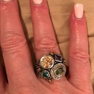 Jewelry - Ring - multi colored stones   NWOT
